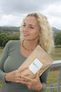 Sandra Kimler, founder of SunLove Greens